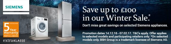 Siemens Winter Sale 14.12.2016 to 07.02.2017