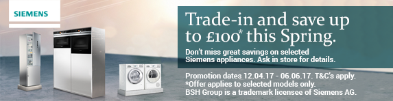 Siemens Spring Trade In 12.04.2017 to 06.06.2017