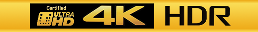 HDR UHD Logo Banner