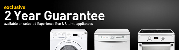 Hotpoint - Exclusive extended 2 Year labour Guarantee 01.07-31.12.15