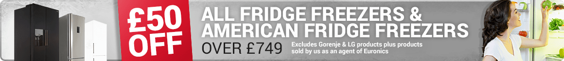 £50 off Fridge Freezers at Marks Electrical