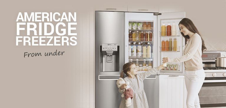 American Fridge freezers from only