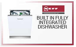 Neff Built in fully integrated Dishwasher only £379