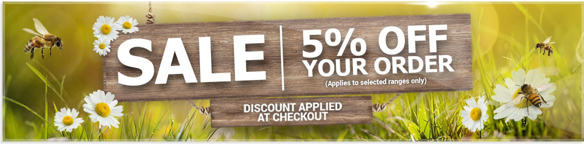 5% off your order on selected appliance ranges