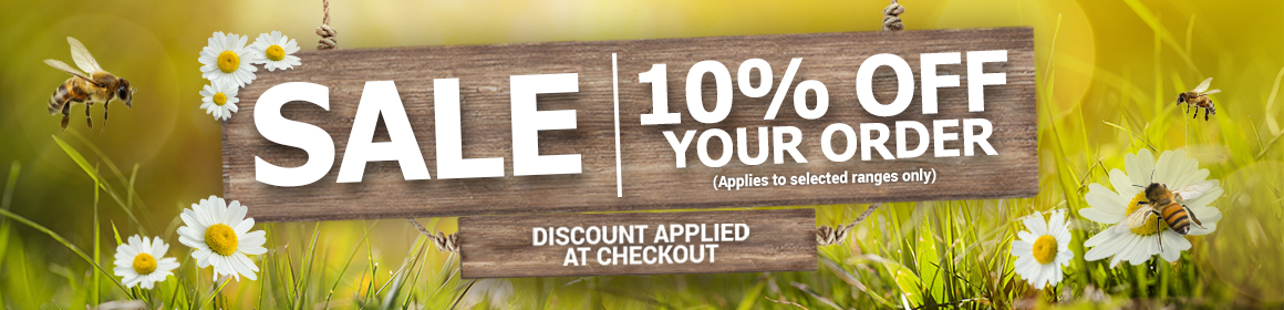 10% off your order on selected appliance ranges