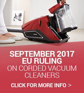 EU ruling on powerful high wattage vacuum cleaners