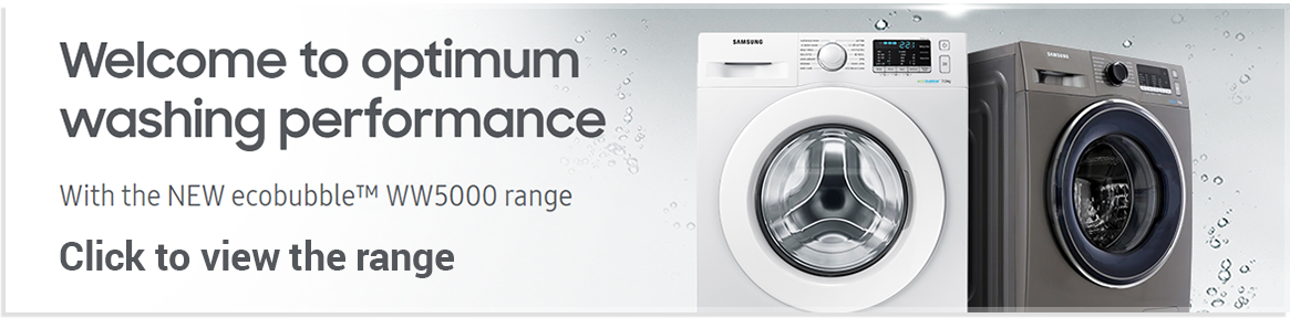 Samsung WW5000 Washer Dryers
