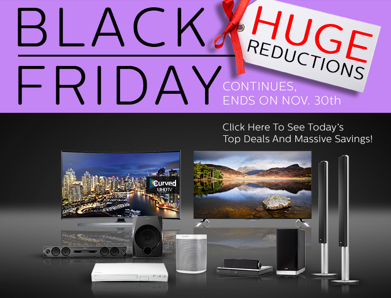 Black Friday TV and Entertainment Deals!