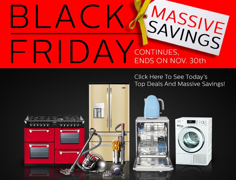 Black Friday Appliance Deals