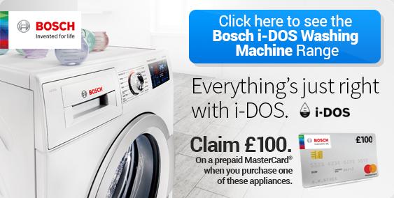 Bosch iDos washing machines