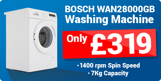 Bosch WAN2800GB Washing Machines for £279