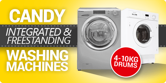 Candy Integrated and Freestanding Washing Machines