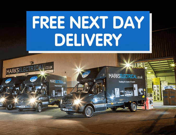 We offer free next day delivery