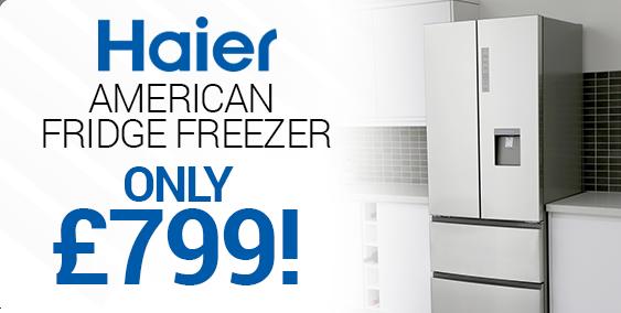 Haier American Fridge Freezers for £849