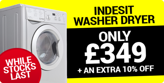 Indesit Washer Dryer Offer With 10% Off