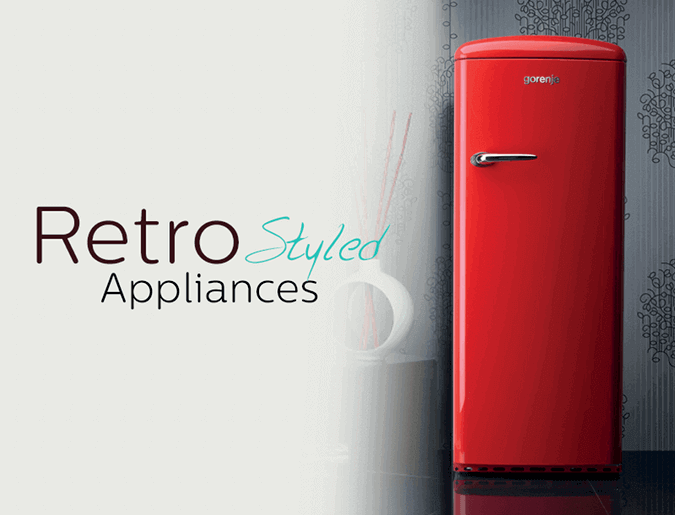 Browse our range of top retro kitchen appliances