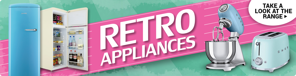 Retro Appliances at Marks Electrical
