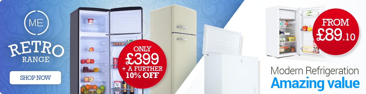 Retro Appliances at Marks Electrical With A Further 10% Off