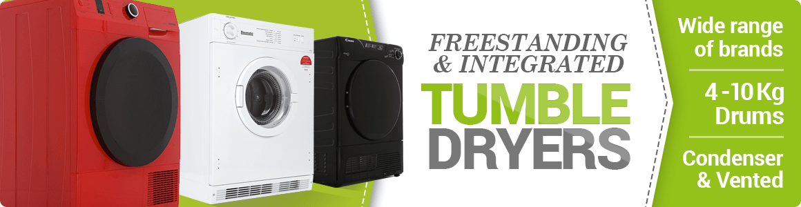Tumble Dryers from £159