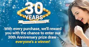 30th Anniversary Prize Draw - Everyone's a Winner