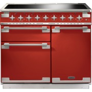 Rangemaster Elise 100 Induction Cherry Red 100cm Electric Induction Range Cooker