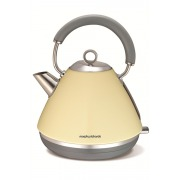 Morphy Richards 102003 Accents Pyramid Cream Traditional Kettle