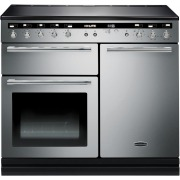 Rangemaster Hi Lite Stainless Steel with Chrome Trim 100cm Electric Induction Range Cooker
