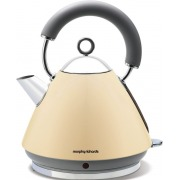 Morphy Richards 43775 Accents Pyramid Cream Traditional Kettle