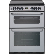 New World Newhome DF600TSIDOm Silver Dual Fuel Cooker