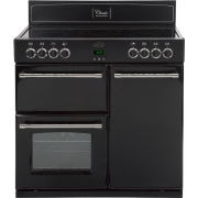 Belling Classic 90E Black 90cm Electric Range Cooker