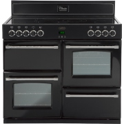 Belling Classic 100E Black 100cm Electric Ceramic Range Cooker