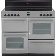 Belling Classic 100E Silver 100cm Electric Ceramic Range Cooker