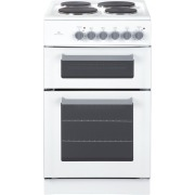 New World EDF50W White Electric Cooker with Double Oven