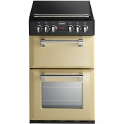 Stoves Richmond MiniRange 550E Champagne Ceramic Electric Cooker with Double Oven