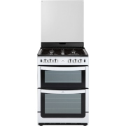 New World NW 601GTCL White Gas Cooker Separate Grill