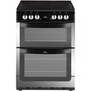 New World NW 601EDO Stainless Steel Ceramic Electric Cooker with Double Oven