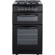 Belling FSE50TC Black Electric Cooker Separate Grill