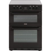 Stoves SEC60DOP GB DE Black Ceramic Electric Cooker with Double Oven