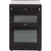 Stoves SFG60DOP Black Gas Cooker with Double Oven