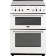 Stoves SFG60DOP White Gas Cooker with Double Oven