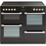 Belling DB4 100E Black 100cm Electric Ceramic Range Cooker