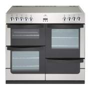 New World Vision 100E Stainless Steel 100cm Electric Range Cooker