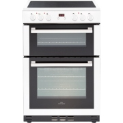 New World 60EDOMC White Electric Cooker with Double Oven