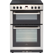 New World 60EDOMC Stainless Steel Electric Cooker with Double Oven