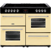 Belling Farmhouse 100E Cream 100cm Electric Ceramic Range Cooker
