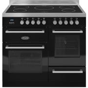 Britannia Q Line Gloss Black RC10XGIQLK 100cm Electric Induction Range Cooker