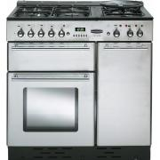 Rangemaster TOLS90DFFSS Toledo Stainless Steel with Chrome Trim 90cm Dual Fuel Range Cooker