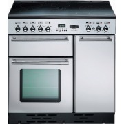 Rangemaster TOLS90EISS Toledo Stainless Steel with Chrome Trim 90cm Electric Induction Range Cooker