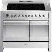 Smeg Opera A2PYID8 Stainless Steel 100cm Electric Induction Range Cooker