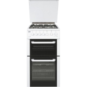 Beko BCDG504W Gas Cooker Separate Grill